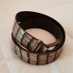 Springfield Bovine Leather Belt- 85/34